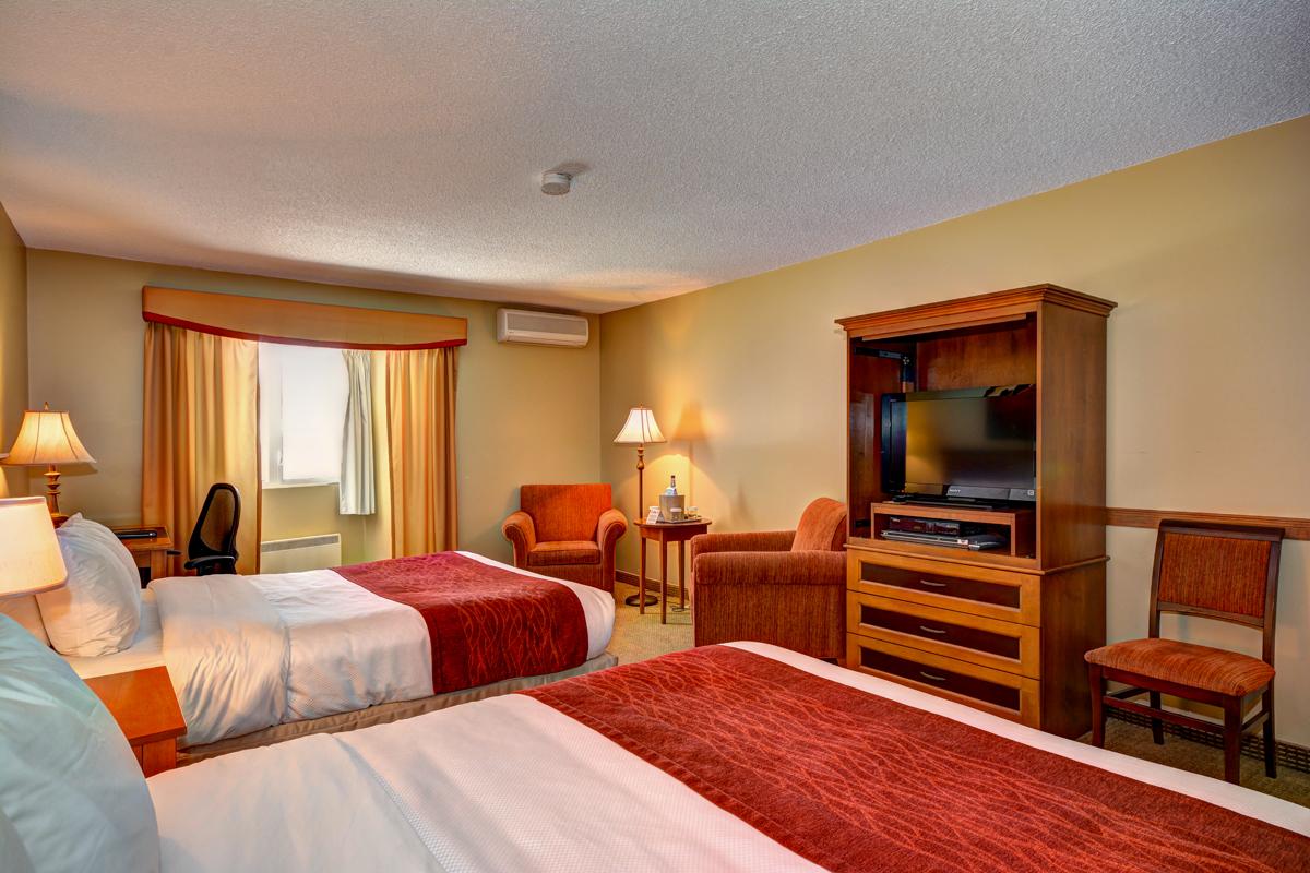 Chambre exécutive 2 grands lits
