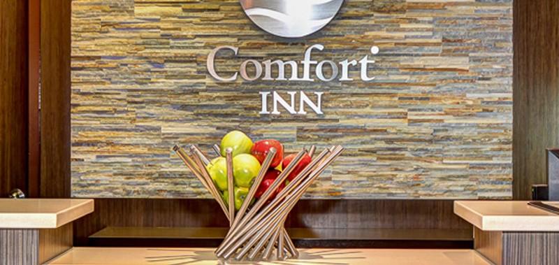 Lobby de l'hôtel Comfort Inn Mont-Laurier