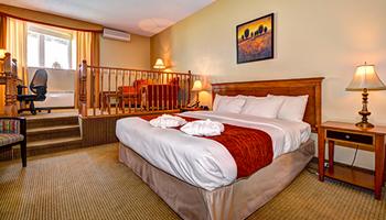 Suites 1 très grand lit et mezzanine